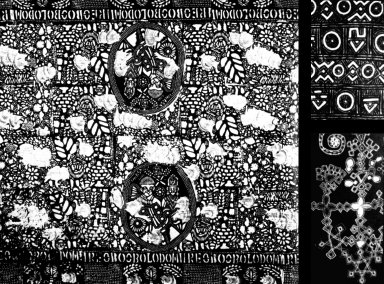 Stencil Jubilee Cloth