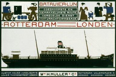 Bartavier-Lijn Poster