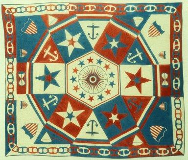 Mariner's Compass Pattern Quilt
