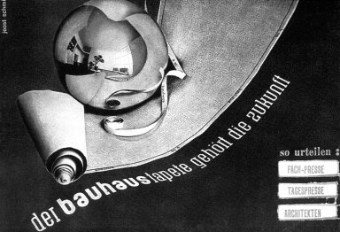 Catalog Cover, Bauhaus Wallpaper