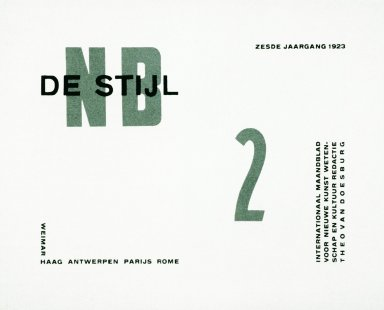 De Stijl Magazine No. 2