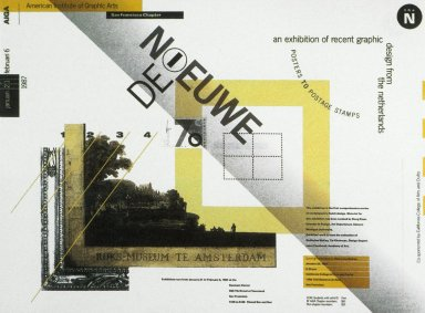 Dutch Graphic Design Exhibition Poster