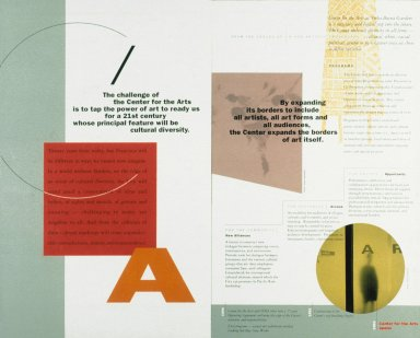 Art Center Brochure