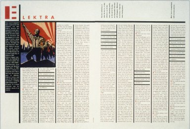 Record Promotion for Elektra Records