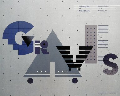 The Language of Michael Graves Exhibition Poster