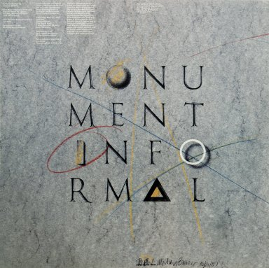 The Monumentally Informal: Recent Work by James Stirling, Michael Wilford and Associates Exhibition Poster