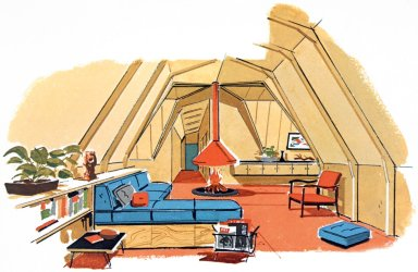 Douglas Fir Plywood Association Home Design No. 1