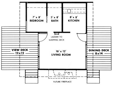 Douglas Fir Plywood Association Home Design No. 2