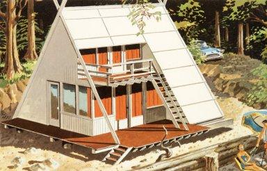 Douglas Fir Plywood Association Home Design No. 4