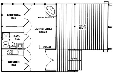 Douglas Fir Plywood Association Home Design No. 7