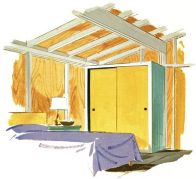 Douglas Fir Plywood Association Home Design No. 8