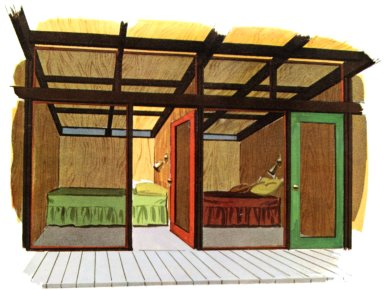 Douglas Fir Plywood Association Home Design No. 17