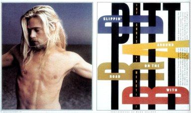Rolling Stone (Brad Pitt Spread)