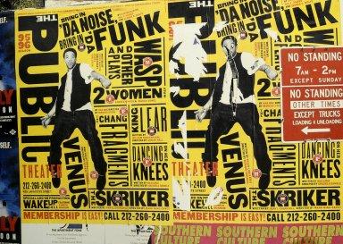 The Public Theater Poster: Bring in 'da Noise, Bring in 'da Funk
