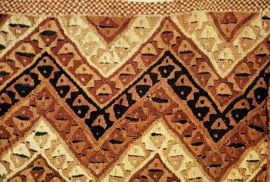 WoolenTapestry with Zigzag and Interlocking Snake Design