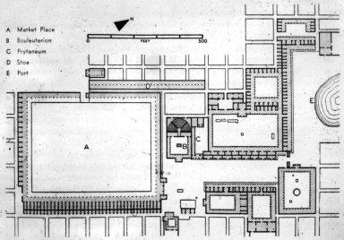 Plan of the Agora