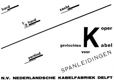 Nederlandsche Kabelfabriek Delft Catalog Advertisement