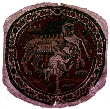 Byzantine Tapestry, Roundel