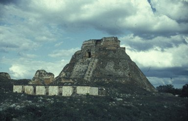 Uxmal: Pyramid of the Magician