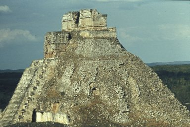 Uxmal: Pyramid of the Magician