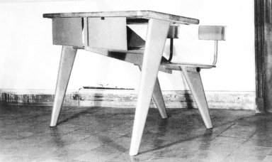 Two-Seater Classroom Tables for the National Technical School of Metz