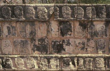 Chichen Itza: Platform of Tzompantli