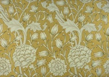 Wild Tulip Wallpaper Series: Yellow with Gilt
