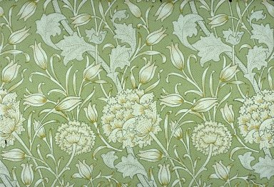 Wild Tulip Wallpaper Series: Light Green