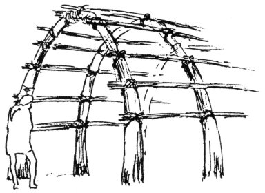 Construction of a Marsh Arab's Reed House