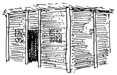 Simple Barasti Hut