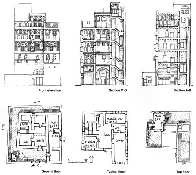 Multi-Story House in Sana'a
