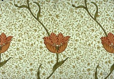 Garden Tulip Wallpaper Series: White