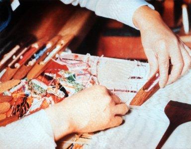 Obi Kimono, Weaving