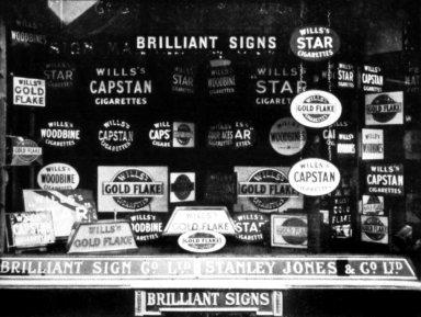 Sign Shop Window