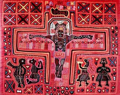 Primitive Crucifixion Scene Mola