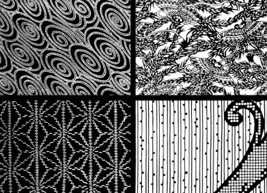 Paste Resist Fabric