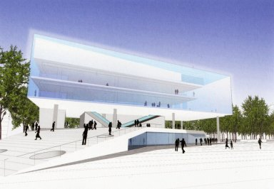 National September 11th Memorial Museum Pavilion