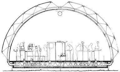 IBM Travelling Pavilion