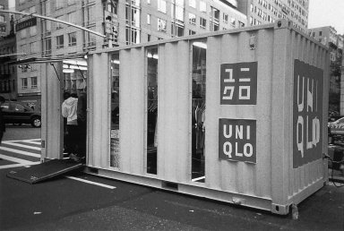 UNIQLO Container Stores