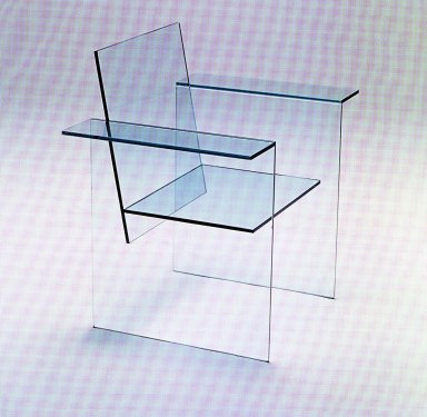 Glass Chair