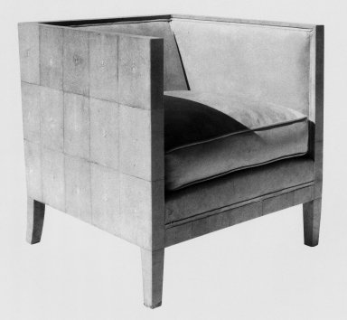 Armchair in Natural Sharkskin