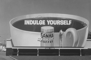 Sanka Coffee Billboard