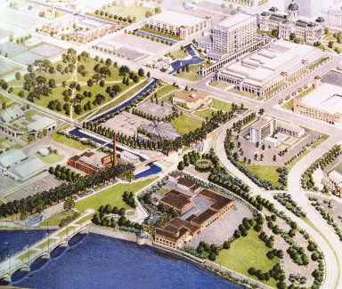 Indianapolis Waterfront Master Plan