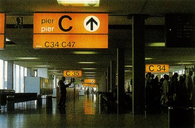 Signage Program for Schiphol Airport
