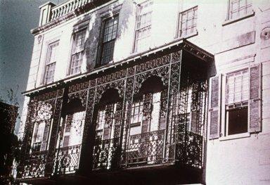 Balcony with Ornamental Ironwork