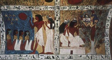 Sennedjem and his Wife Iyneferti Praying