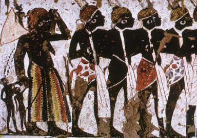 People from the South from the Tomb of Huy