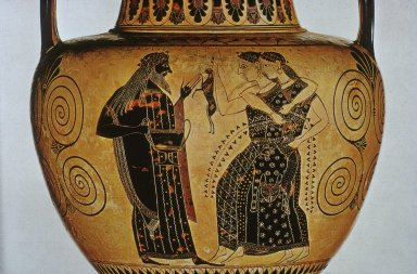 Dionysos and Maenads