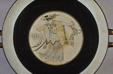 Kylix with Maenad