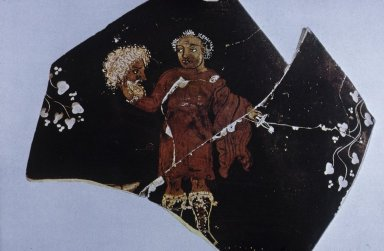 Krater Fragment with Tragic Actor